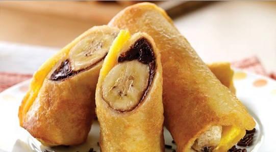 Analisa Bisnis Piscok Pisang Coklat Dengan Modal Kecil + Proposal Resep cara membuat es pisang coklat dengan coklat batang